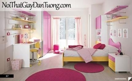 Phong thủy phòng ngủ, phòng ngủ dành cho bé yêu