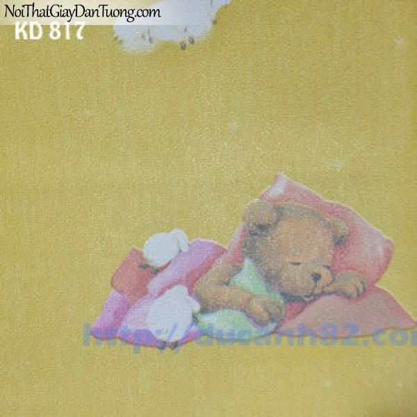 Giấy dán tường trẻ em Kidland KD817