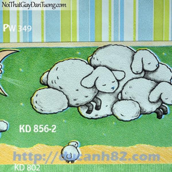 Giấy dán tường trẻ em Kidland KD856-2-802