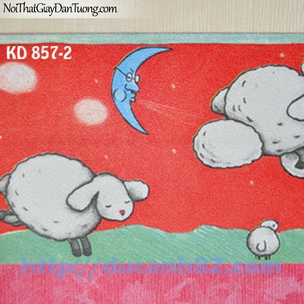 Giấy dán tường trẻ em Kidland KD857-2
