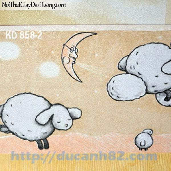 Giấy dán tường trẻ em Kidland KD858-2