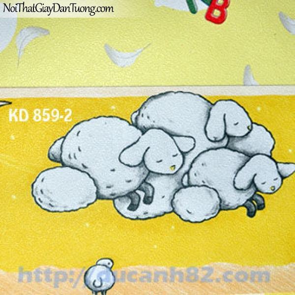 Giấy dán tường trẻ em Kidland KD859-2