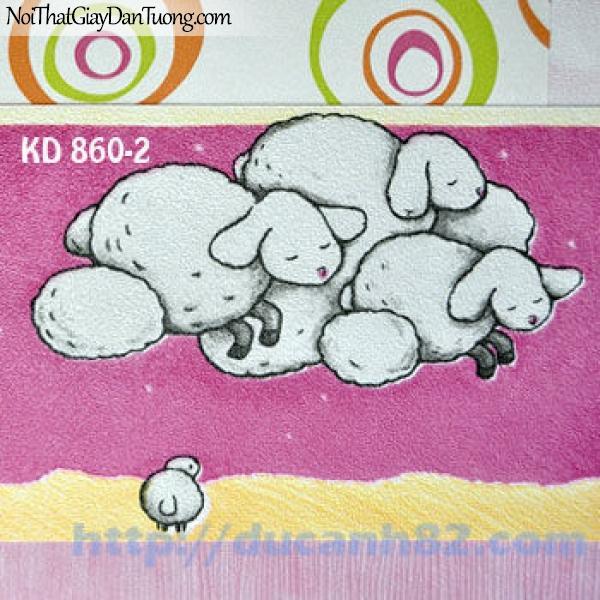 Giấy dán tường trẻ em Kidland KD860-2