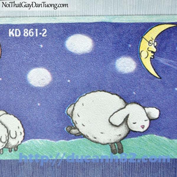 Giấy dán tường trẻ em Kidland KD861-2
