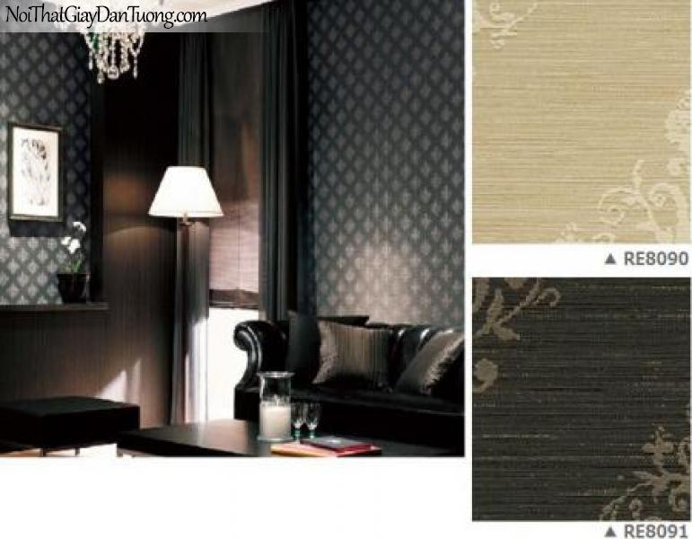 Gấy dán tường Nhật Bản Reseve 1000 RE-8090-8091 | Giấy dán tường cao cấp giá rẻ