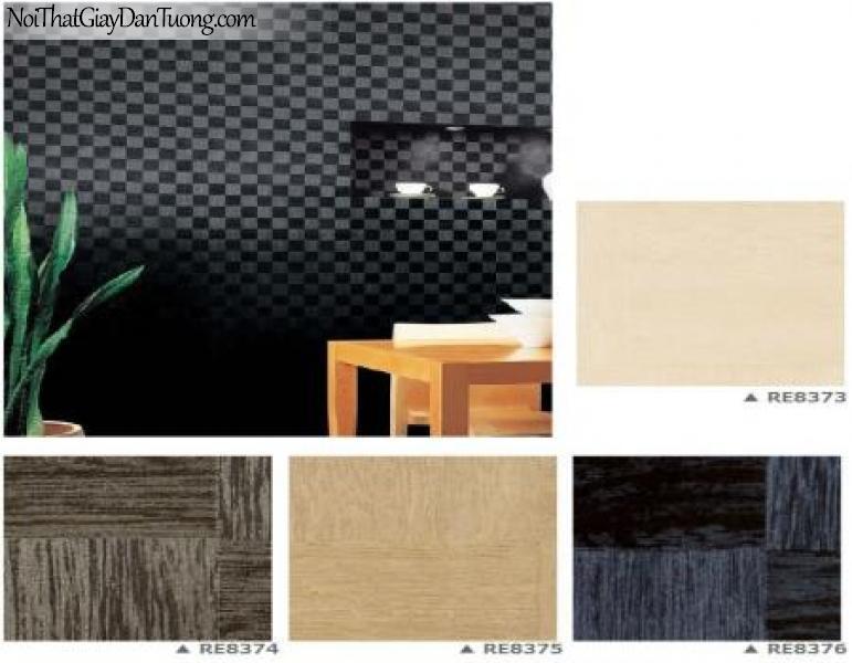 Gấy dán tường Nhật Bản Reseve 1000 RE-8373-8374-8375-8376 | Giấy dán tường cao cấp giá rẻ