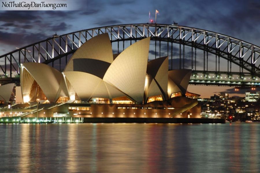 Biểu tượng của Sydney, Australia, Tranh dán tường