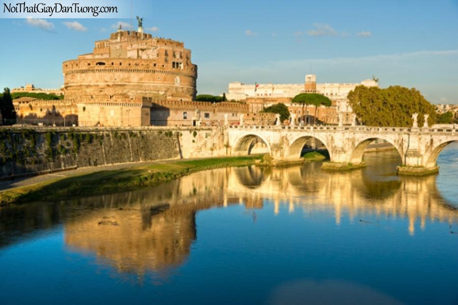 Tranh dán tường, Rom Italien