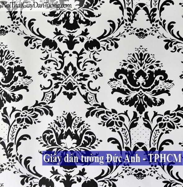 Giấy dán tường Châu Âu Châu Mỹ, Giấy dán tường Canada, Giấy dán tường Stripes & Damasks II bk32013