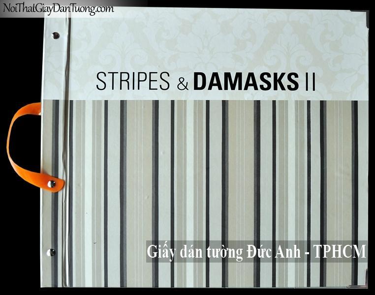 Giấy dán tường Stripes & Damasks II 2