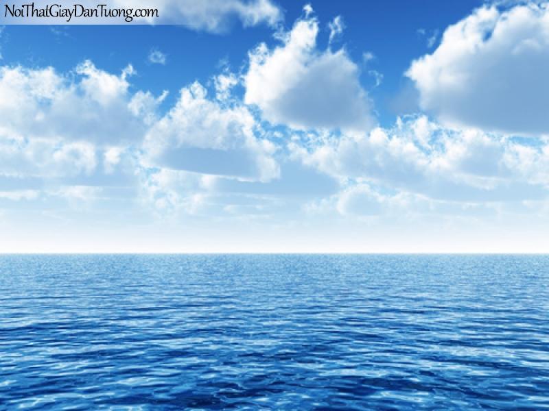 Tranh dán tường, Biển xa tít tận chân trời