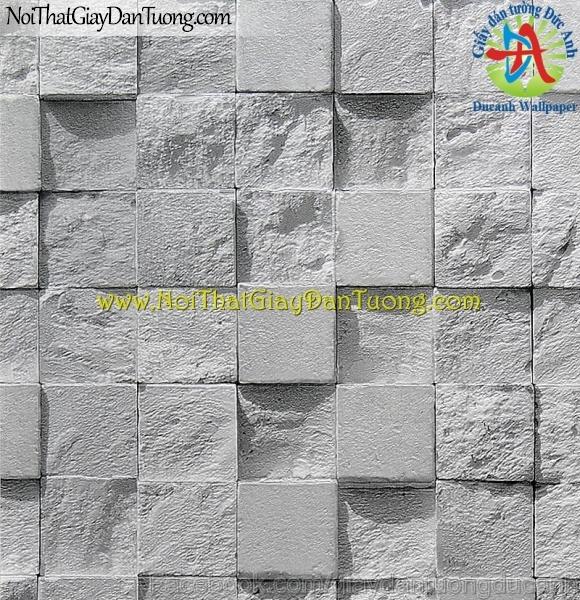 Giấy dán tường Hàn Quốc giả đá - Stone Touch 85019-1