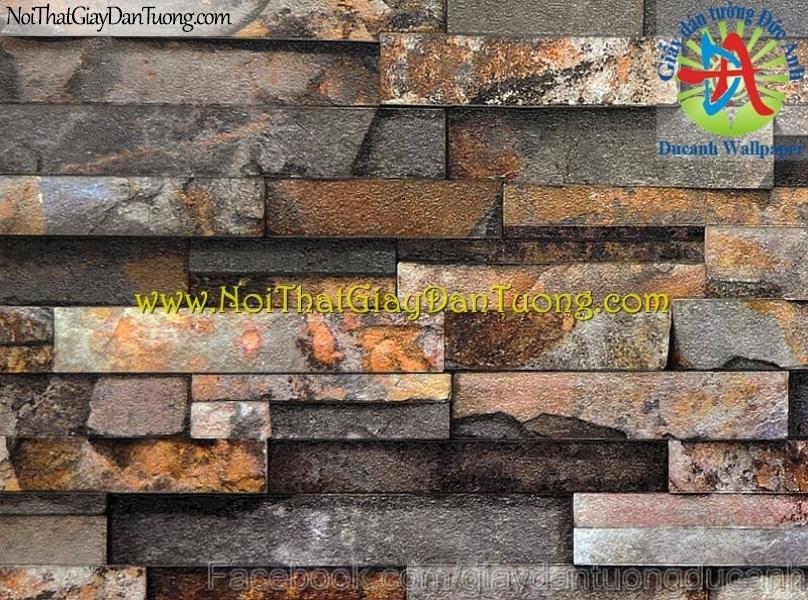 Giấy dán tường giả đá 3D - Stone Touch 85011-1