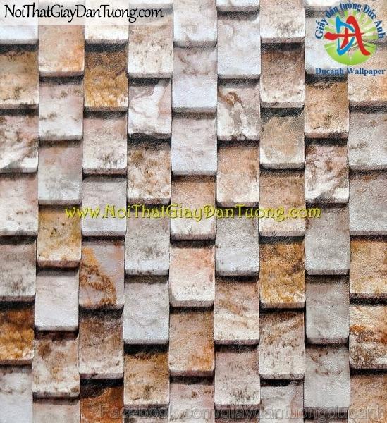 Giấy dán tường giả đá 3D - Stone Touch 85014-2