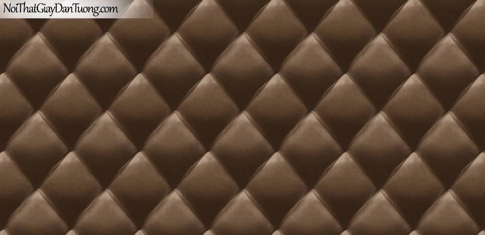 Giấy dán tường giả da, giả đá, giả lông thú, giả nệm (đệm), giả tre, giả sắt giả vải 5575-2