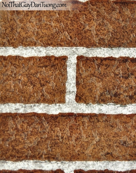 Giấy dán tường giả gạch - giay dan tuong gia gach 66202