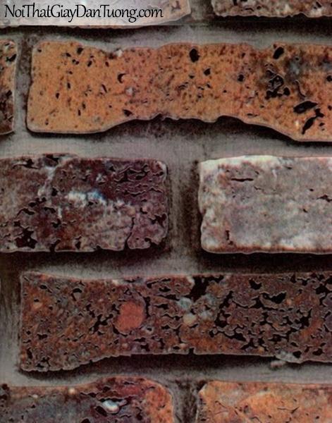 Thụy Sỹ - Giấy dán tường giả gạch - giay dan tuong gia gach AD1802