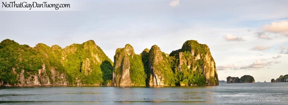 Tranh dán tường | Tranh dan tuong Vinh Ha Long DA0556