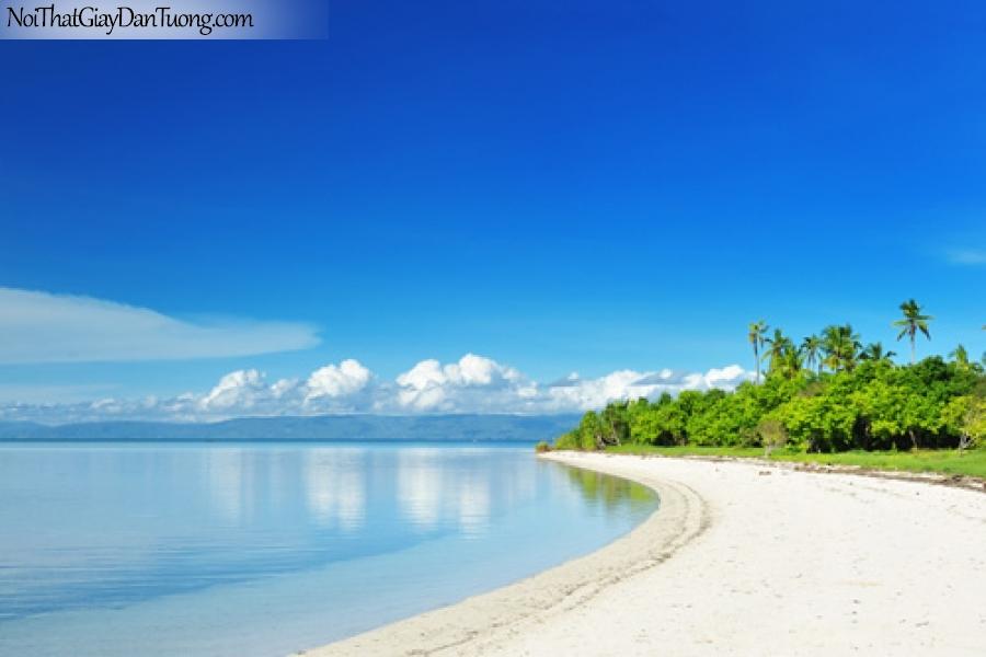 Tranh dán tường, ngắm cảnh biển và trời xanh biếc DA1149