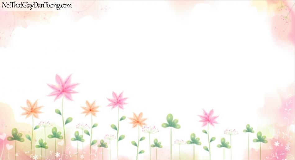 Tranh dán tường, những bồng hoa đẹp DA2041