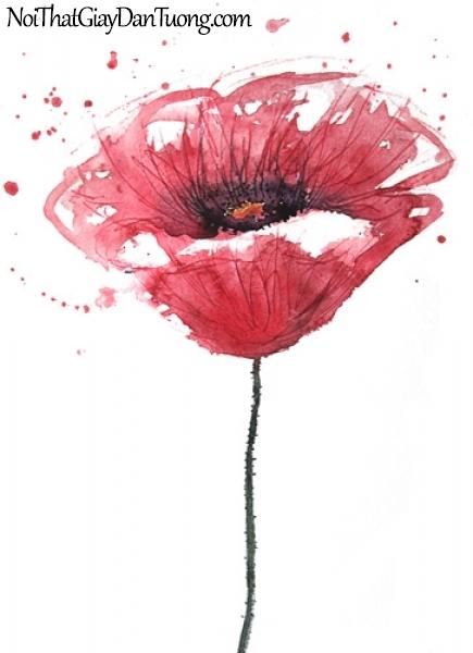 Tranh dán tường | Bức tranh bông hoa hồng tuyệt đẹp DA2208
