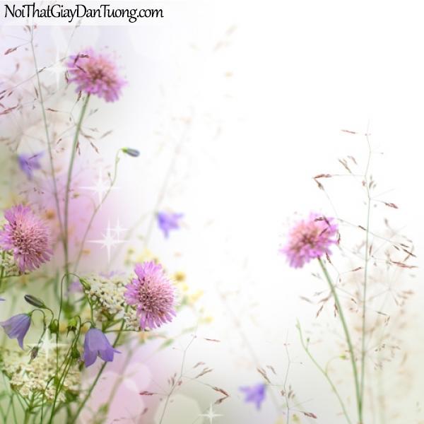 Tranh dán tường hoa lá cỏ DA2235