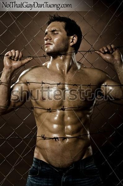 Tranh dán tường nghệ thuật | Tranh khỏa thân, nude, body, đường cong DA604