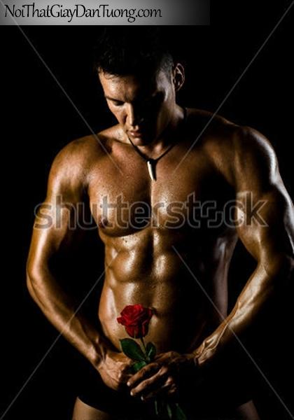 Tranh dán tường nghệ thuật | Tranh khỏa thân, nude, body, đường cong DA612