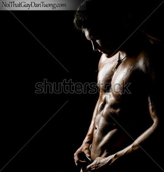 Tranh dán tường nghệ thuật | Tranh khỏa thân, nude, body, đường cong DA615