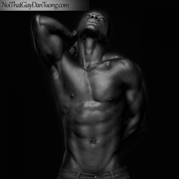 Tranh dán tường nghệ thuật | Tranh khỏa thân, nude, body, đường cong DA617