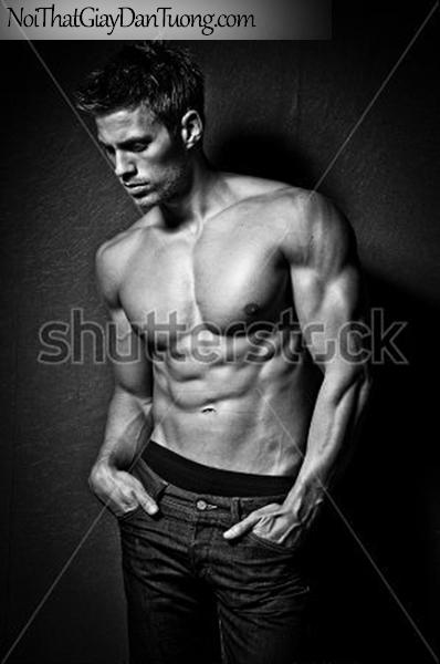 Tranh dán tường nghệ thuật | Tranh khỏa thân, nude, body, đường cong DA641