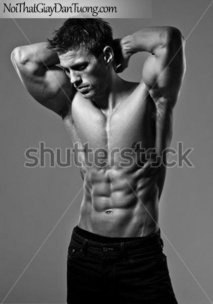 Tranh dán tường nghệ thuật | Tranh khỏa thân, nude, body, đường cong DA643