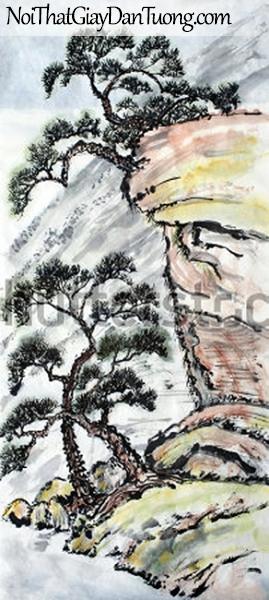 Tranh dán tường | Tranh vẽ | Tranh thủy mặc ( mạc ) DA452