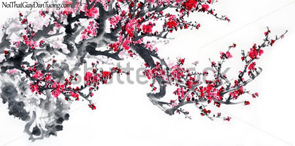 Tranh dán tường | Tranh vẽ | Tranh thủy mặc ( mạc ) DA498