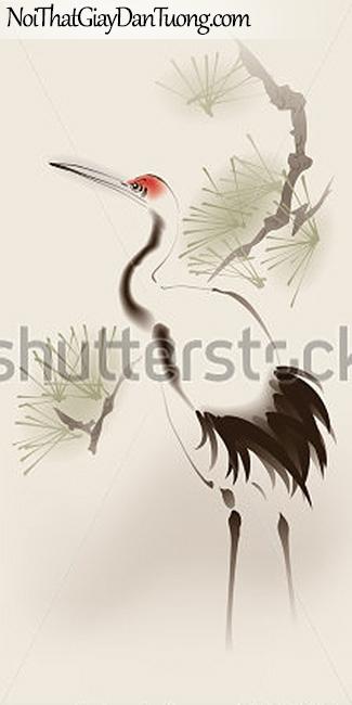 Tranh dán tường   Tranh vẽ   Tranh thủy mặc ( mạc ) DA515