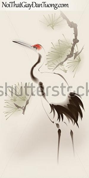 Tranh dán tường | Tranh vẽ | Tranh thủy mặc ( mạc ) DA515