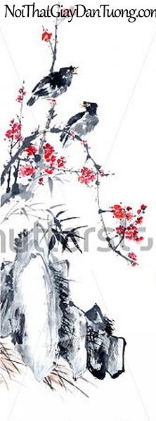 Tranh dán tường | Tranh vẽ | Tranh thủy mặc ( mạc ) DA525