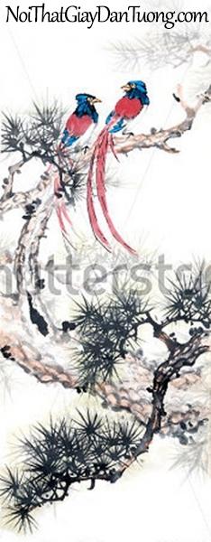 Tranh dán tường | Tranh vẽ | Tranh thủy mặc ( mạc ) DA529