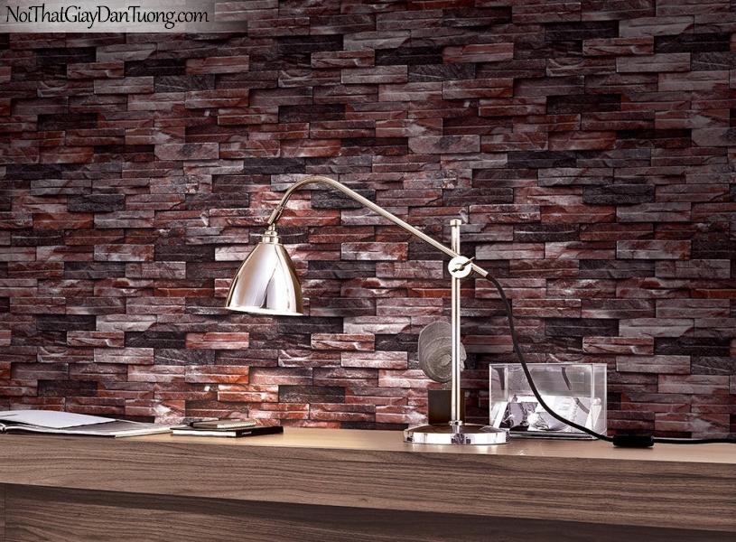 Phối cảnh | Giấy dán tường giả đá | giay dan tuong Stone Therapy 53107-3