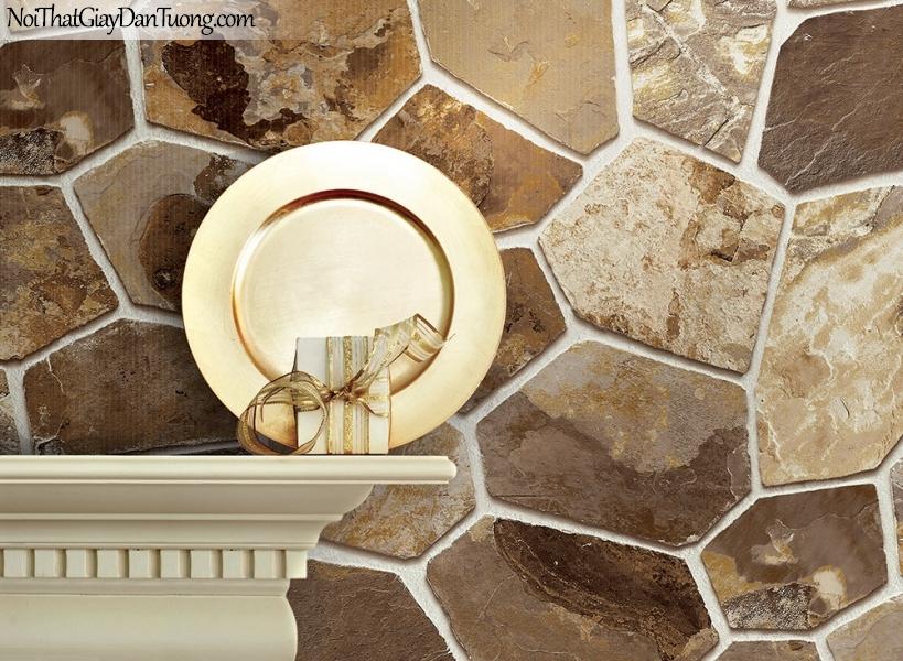 Phối cảnh | Giấy dán tường giả đá | giay dan tuong Stone Therapy 53109-1