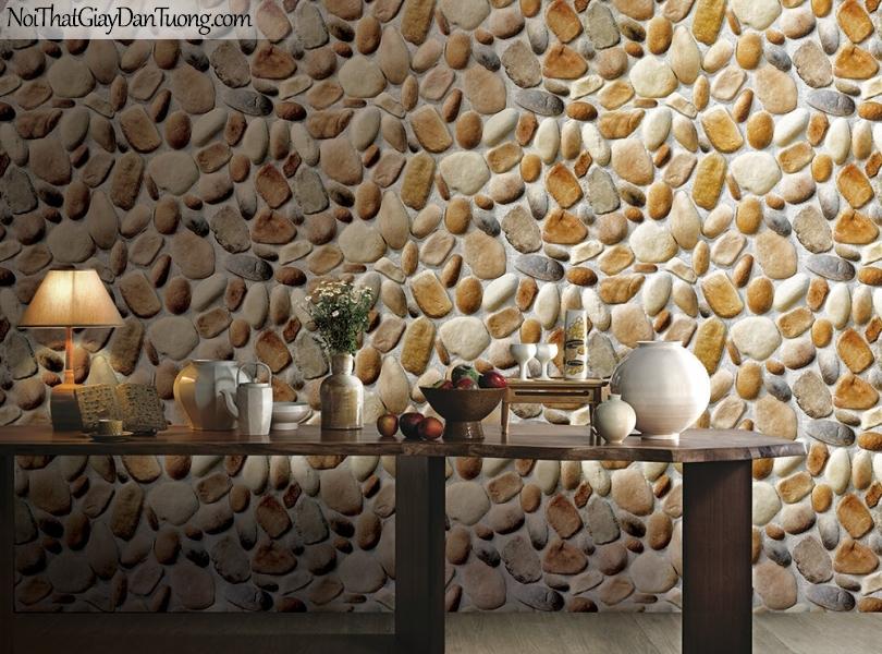 Phối cảnh | Giấy dán tường giả đá | giay dan tuong Stone Therapy 53110-3