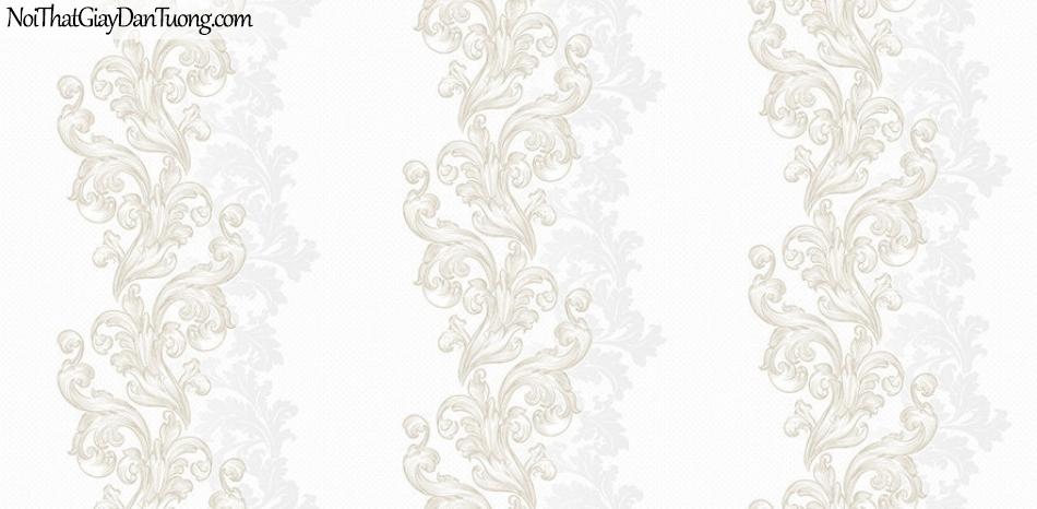 Giấy dán tường The Eight 2129-1 - Giấy dán tường sọc bông, sọc hoa văn, hoa văn sọc xuôi, sọc xuống, giấy dán tường hoa nổi, hoa chìm