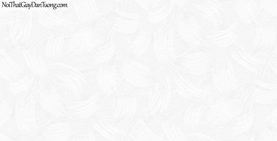Giấy dán tường The Eight 2144-1 - giấy dán tường hoa văn nhẹ màu kem, vòng tròn, xoăn ốc