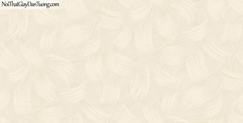 Giấy dán tường The Eight 2144-2 - giấy dán tường hoa văn nhẹ màu vàng kem, vệt sơn