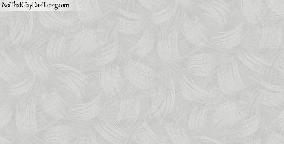 Giấy dán tường The Eight 2144-4 - giấy dán tường hoa văn màu xám, xám tro, nâu nhạt