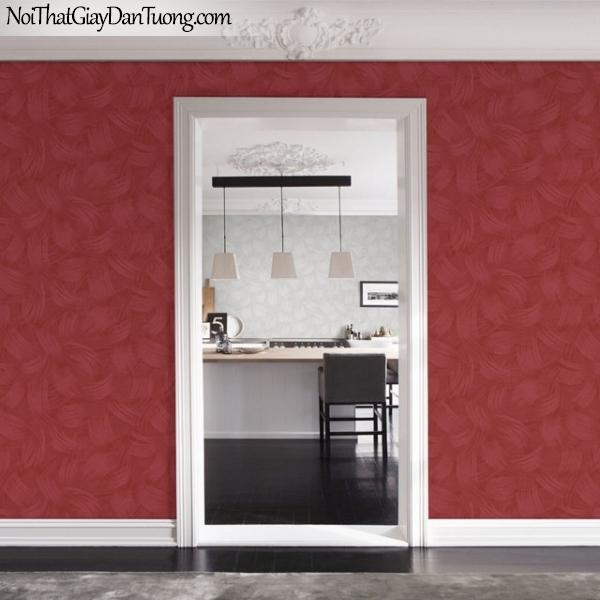 Giấy dán tường The Eight 2144-4 vs 2144-6 - phối cảnh giấy dán tường màu đỏ, màu đỏ đô, điểm nhấn màu đỏ đẹp