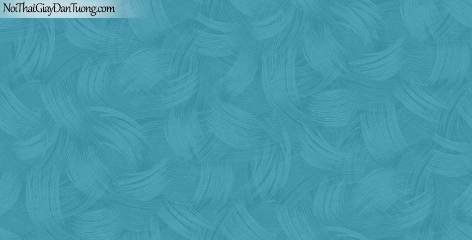 Giấy dán tường The Eight 2144-5 - giấy dán tường màu xanh, xanh biển, xanh gia trời, xanh nhạt, hoa văn màu xanh