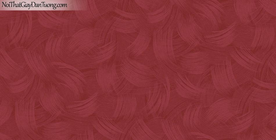 Giấy dán tường The Eight 2144-6 - giấy dán tường hoa văn màu đỏ, đỏ đô, màu đỏ điểm nhấn