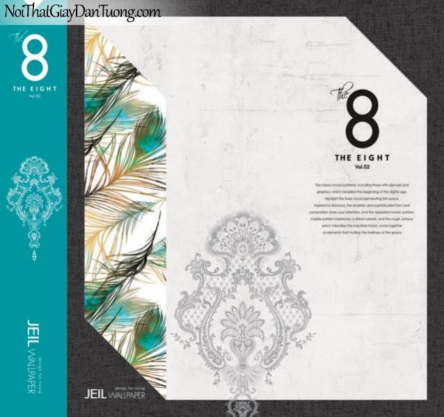 Catalogue - Abum giấy dán tường The Eight 8 - tháng 8 năm 2018