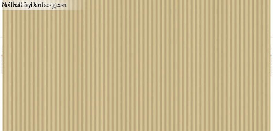 Giấy dán tường Hàn Quốc Hera 6010-5 - giấy dán tường sọc thẳng, sọc màu vàng đậm, sọc nhỏ, sọc nhuyễn